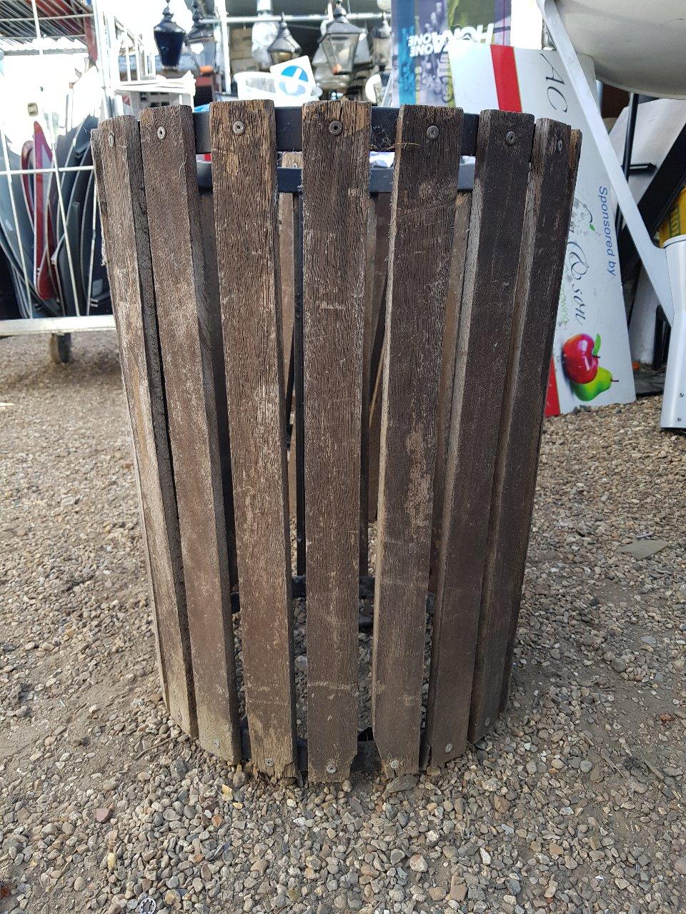 Wood Slate Bins