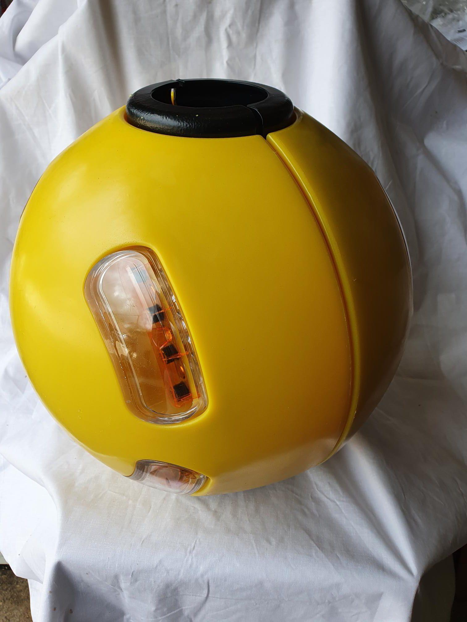 Simmonsigns Midustar LED Post Mounting Belisha Beacon