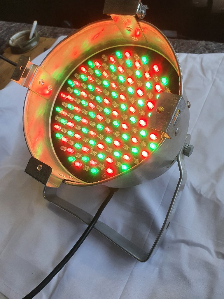 Vintage Disco Equipment – LED Pulse Par Can Lights