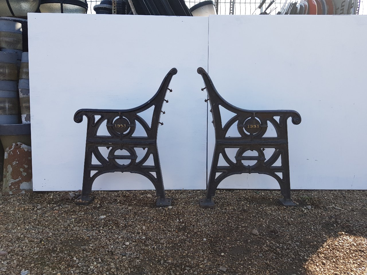 Heavy Duty Cast Iron Bench