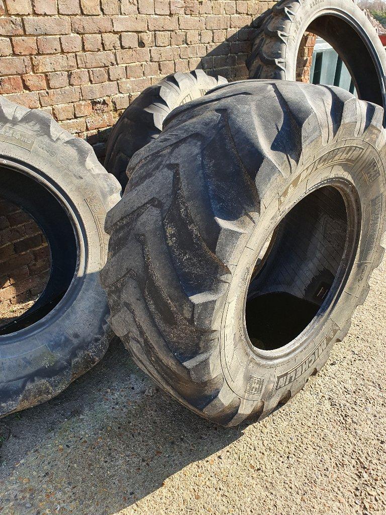 Tractor Tyres – Worn