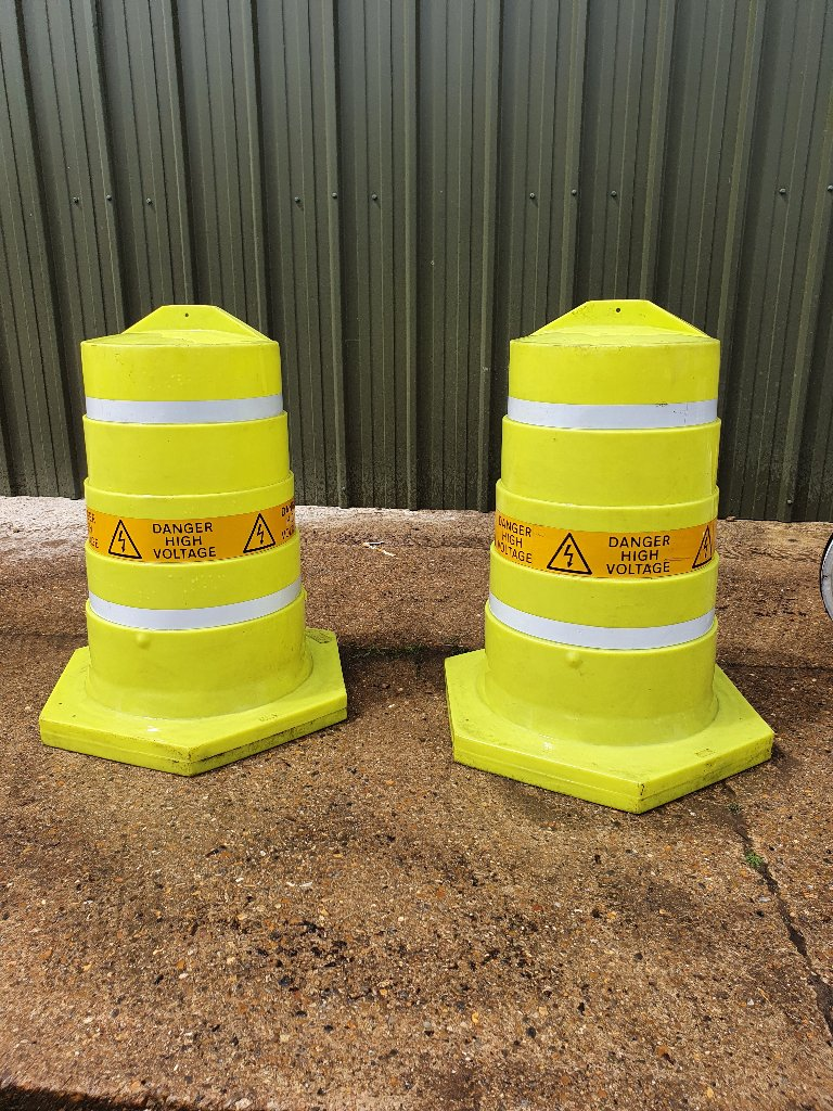 Temporary Bollard Replacements Covers