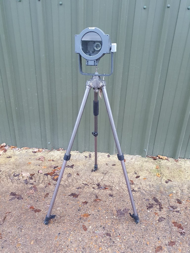Small Thorn Light – Mounted On Vintage Camera Tripod
