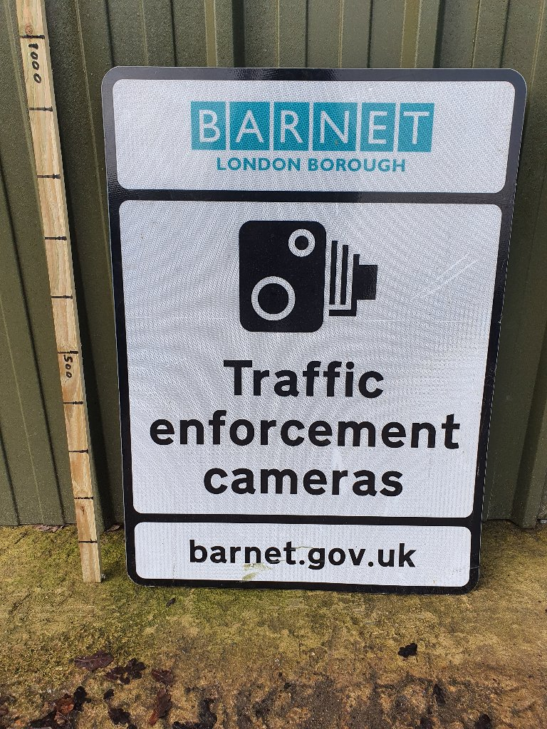 Sign – Traffic Enforcement Barnet London Borough