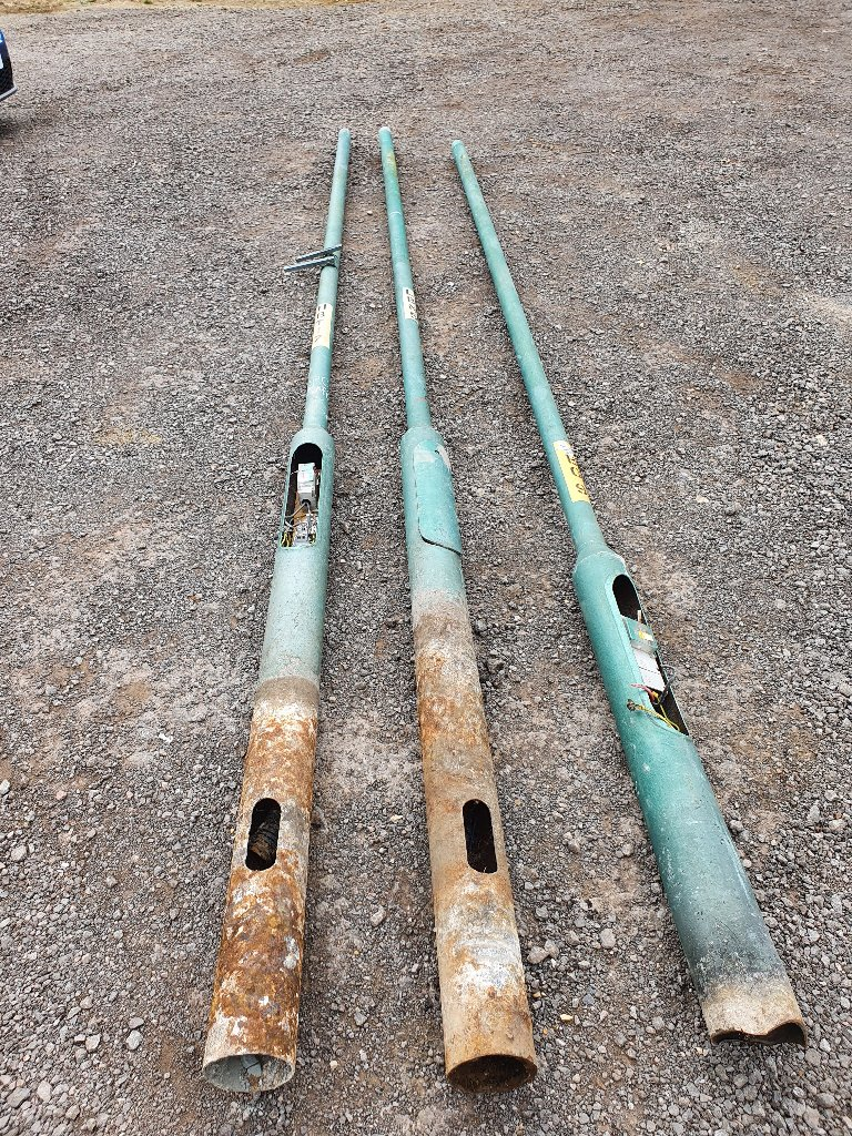 Steel 5 Metre Lamp Post