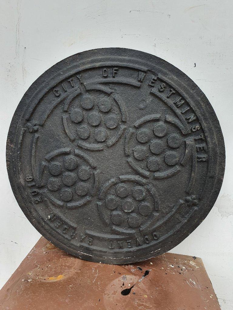 Orginal Covent Garden Coal Hole Cover