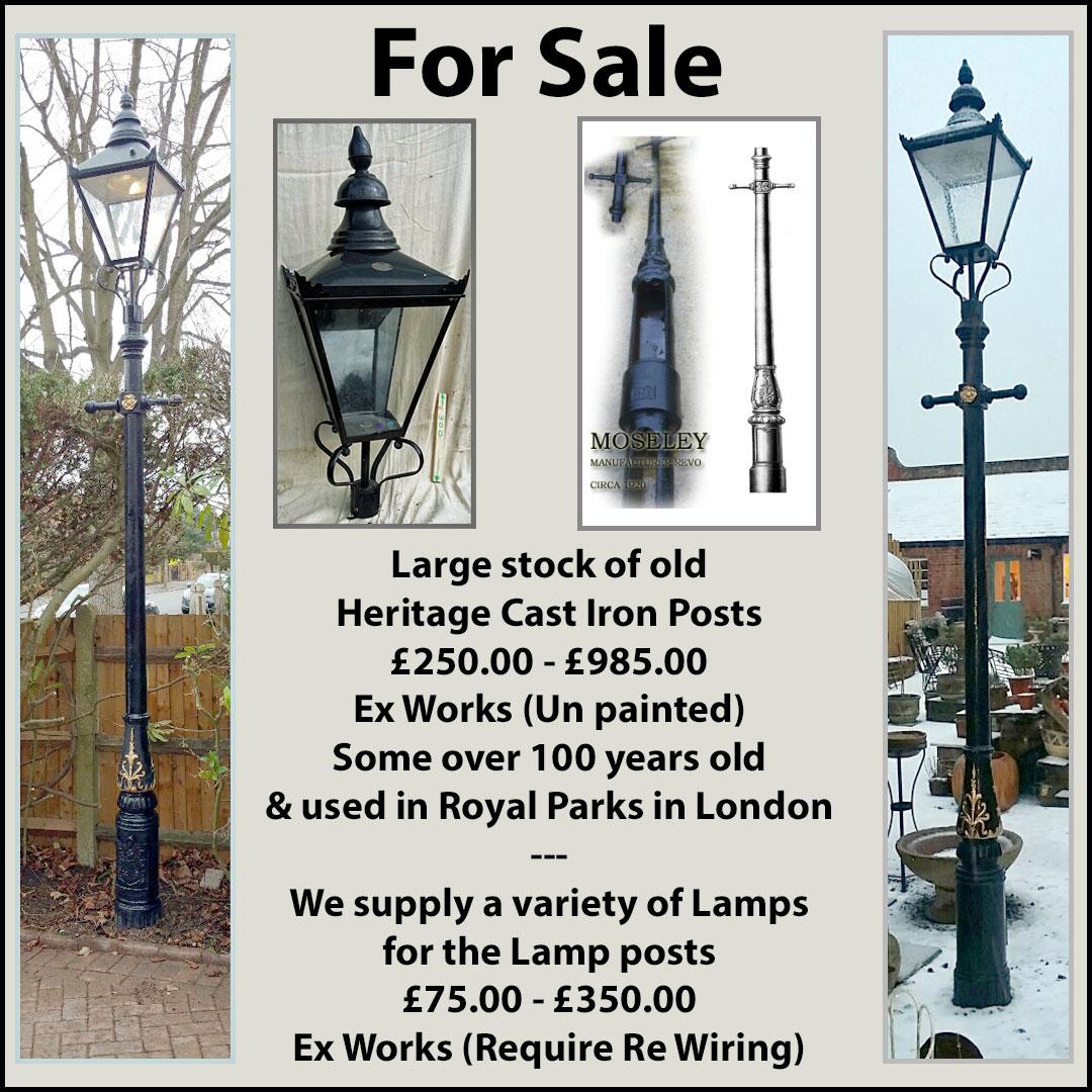 Lamp Posts – Various Types Are Available