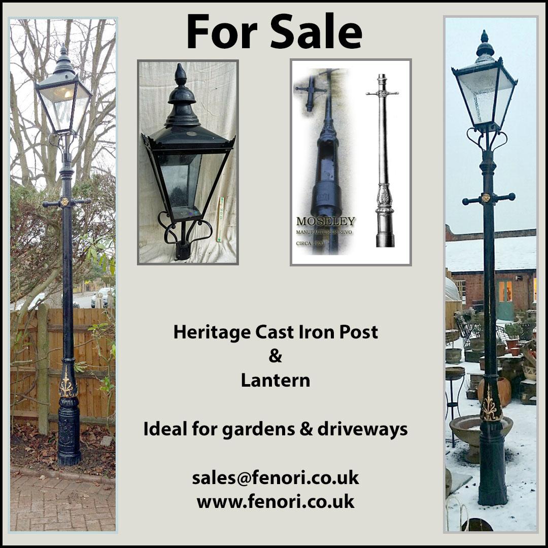 10. Lamp Posts