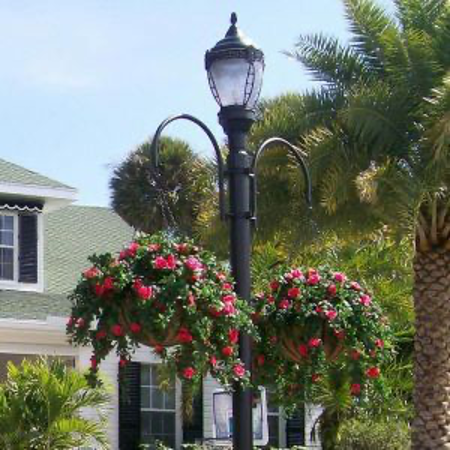 Wrought Iron Hanging Basket Brackets