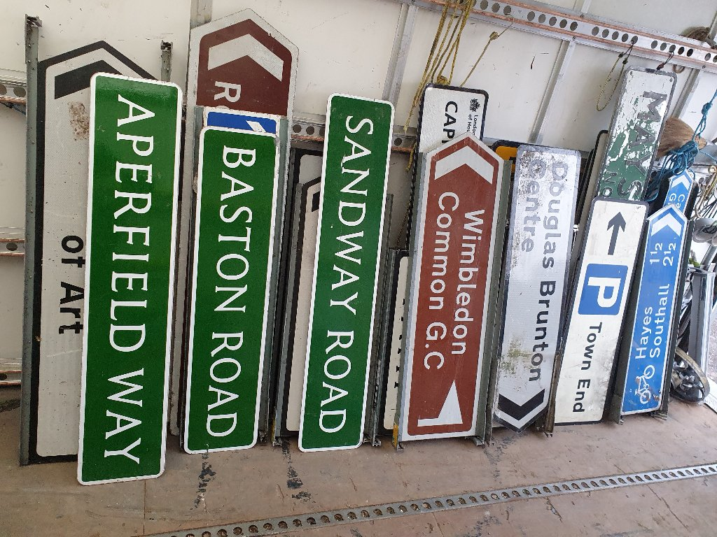 Signs – Various Signs Now Available – SKU: SIGNS-10