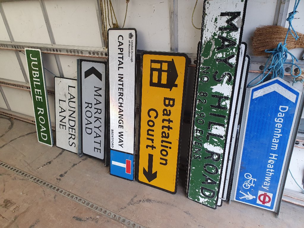 Signs – Various Signs Now Available – SKU: SIGNS-11