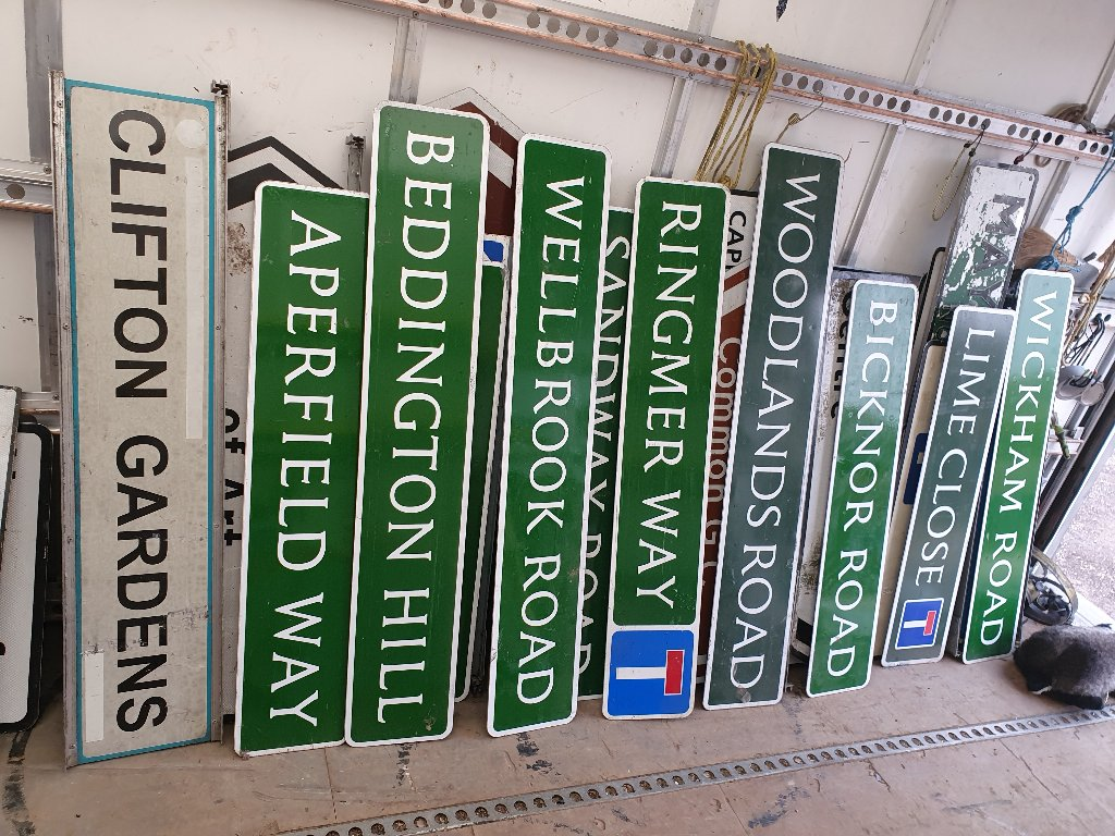Signs – Various Signs Now Available – SKU: SIGNS-2