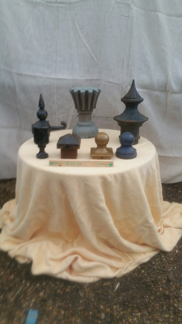 Finials – Selection Of