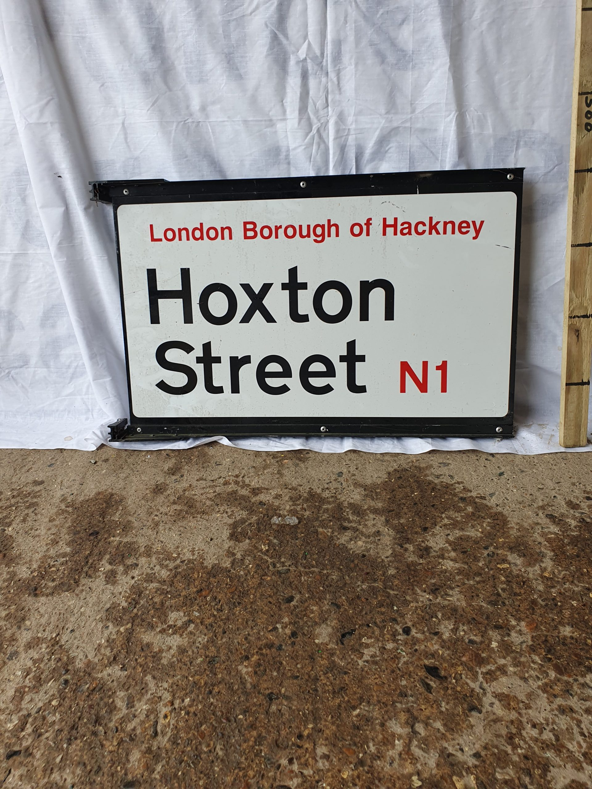 Hoxton Street Hackney N1 Double Sided Sign