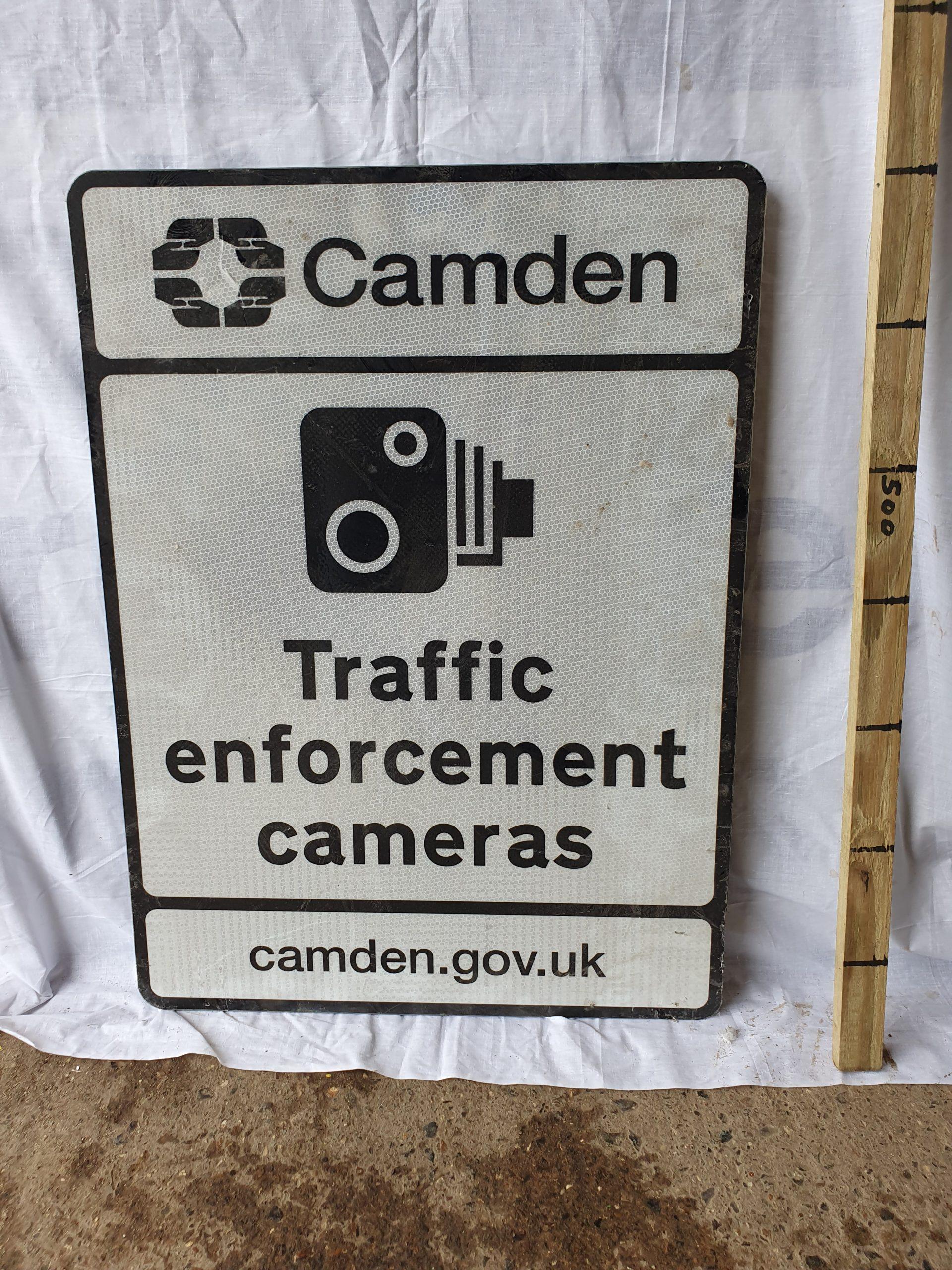 Camden Camera Sign – Traffic Enforcement