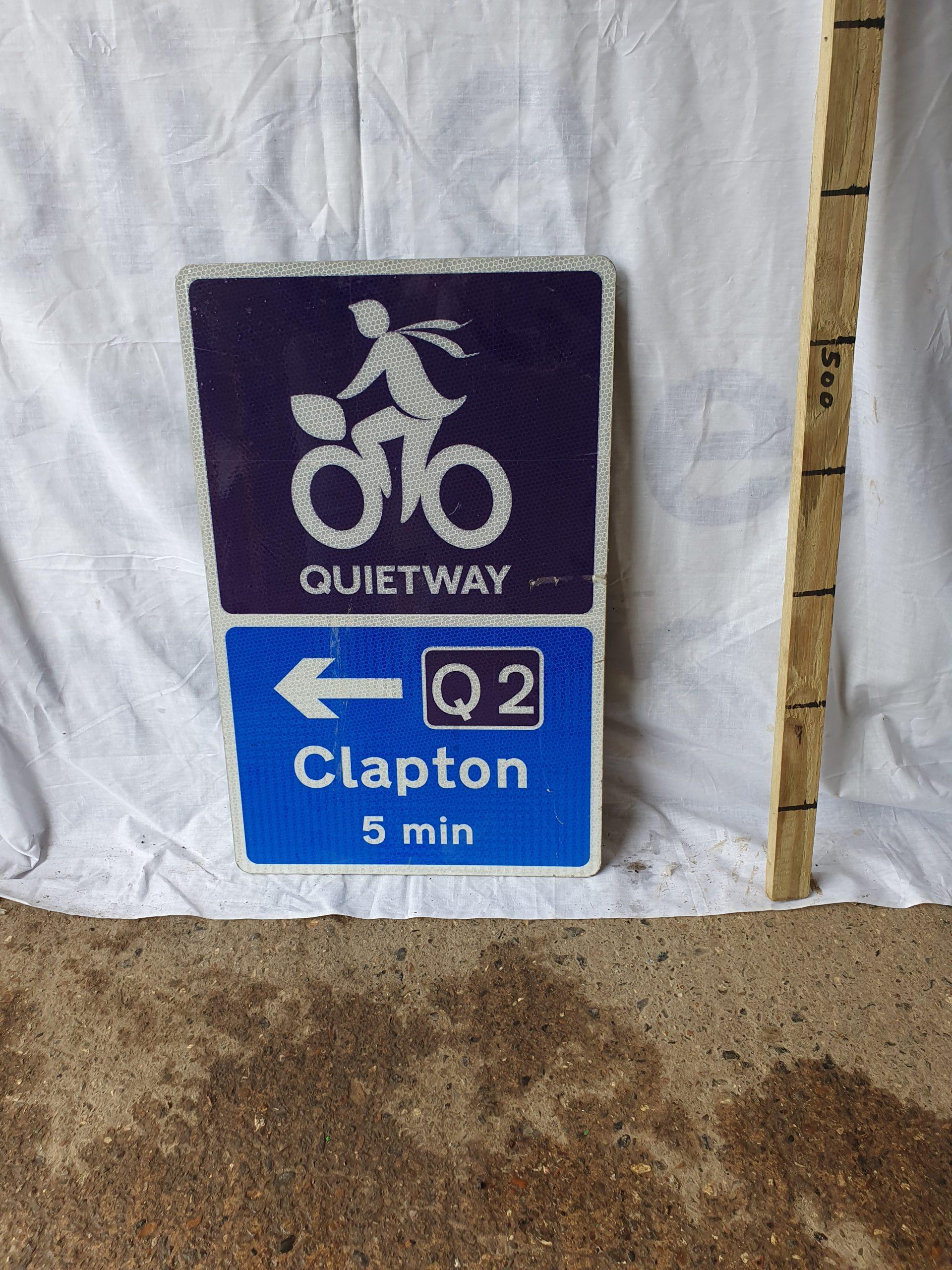 Cycle Way Sign