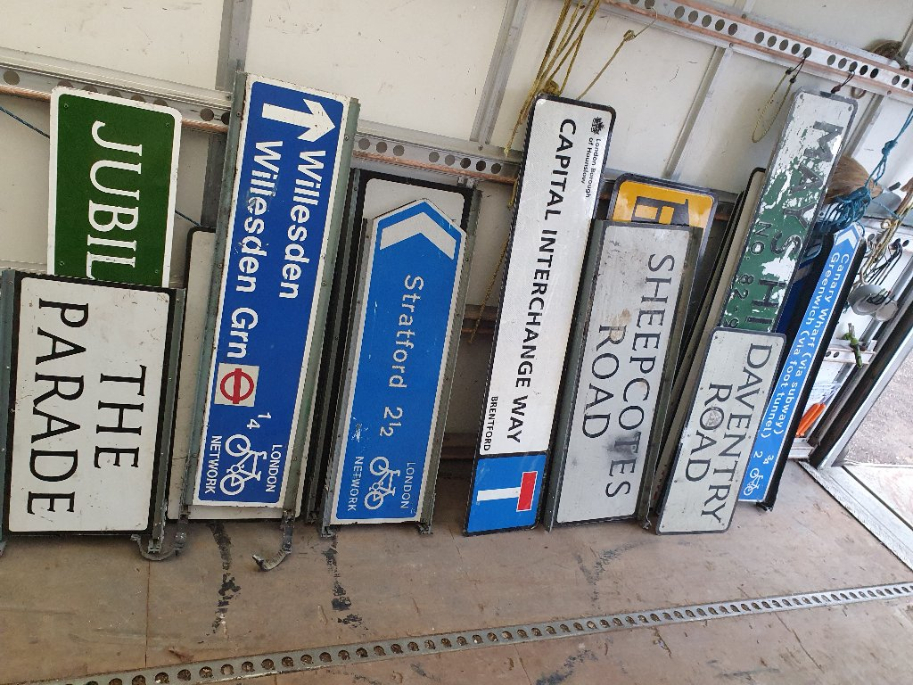 Signs – Various Signs Now Available – SKU: SIGNS-5