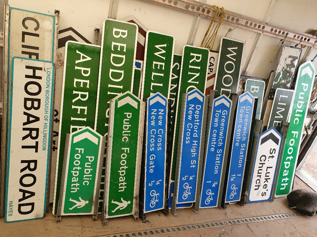 Signs – Various Signs Now Available – SKU: SIGNS-9
