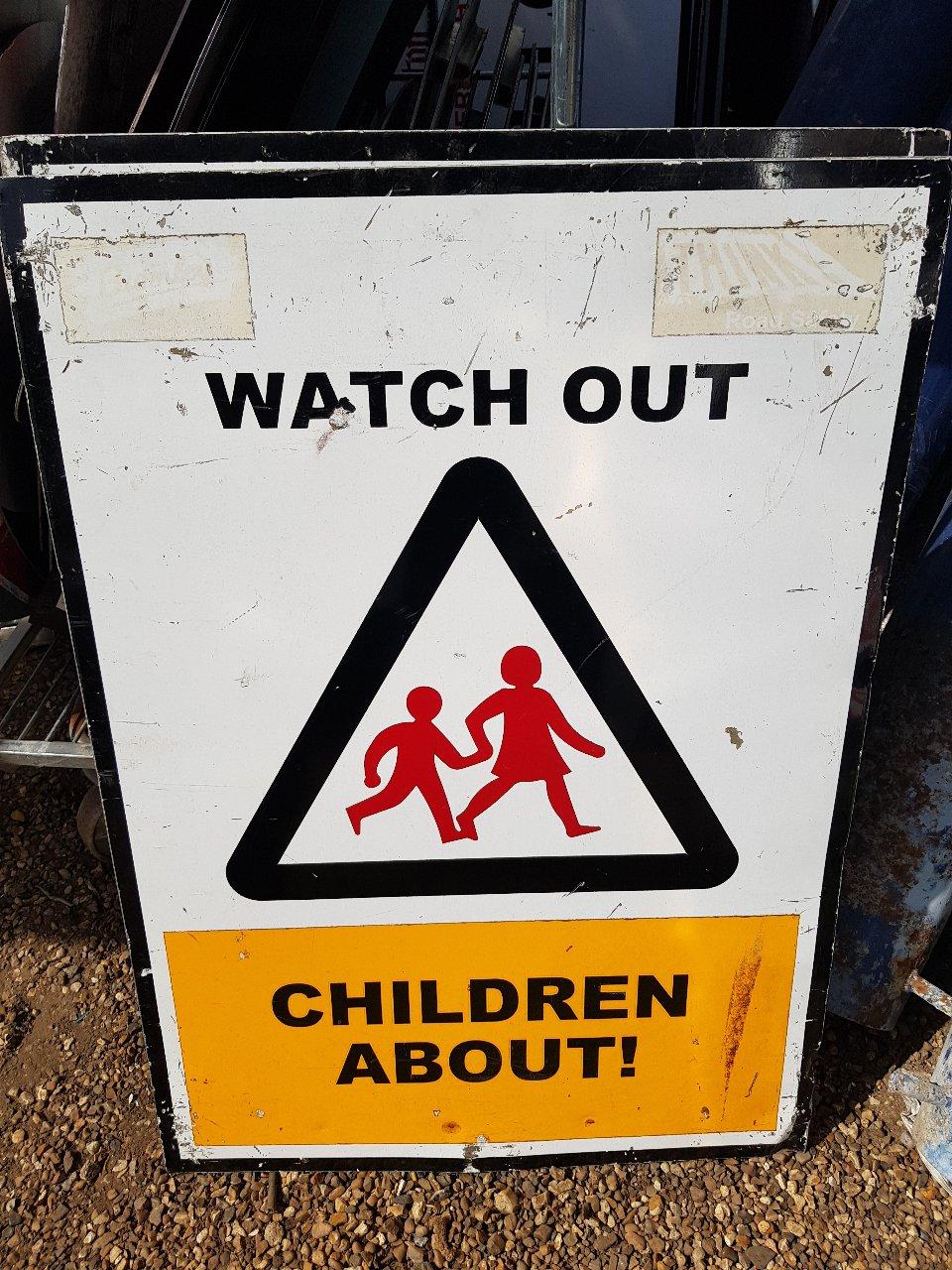 Bromley Old Aluminium Speed Aware Signs