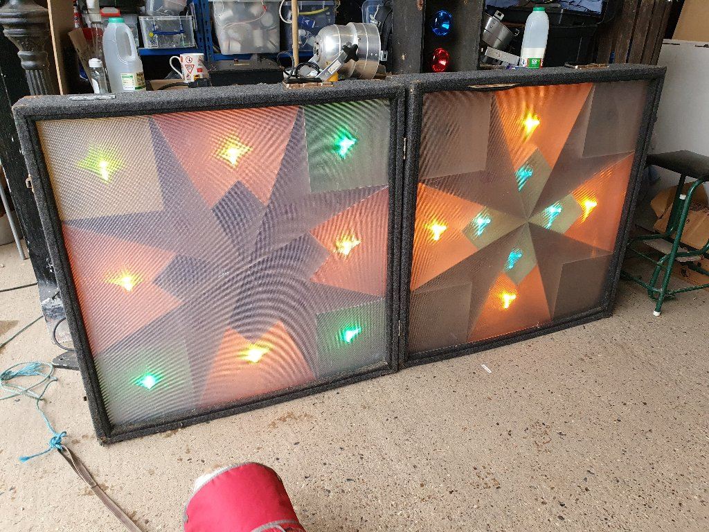 Vintage Disco Equipment – Disco Pulsing Light Boxes
