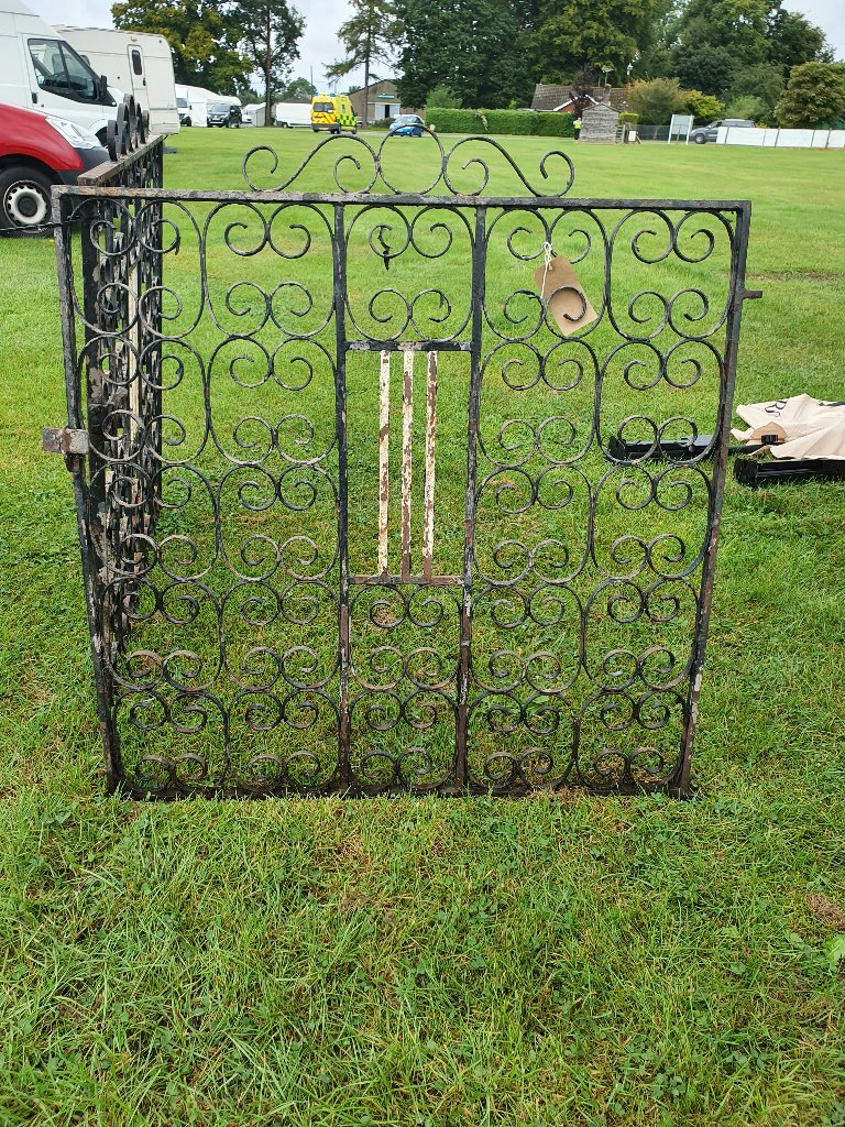 Double Driveway Wrought Iron Gates