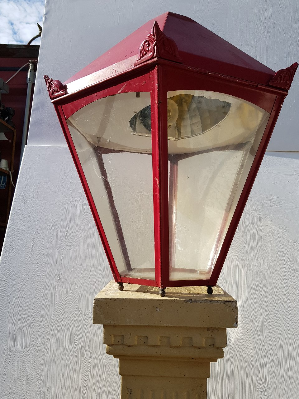 French Red Lantern