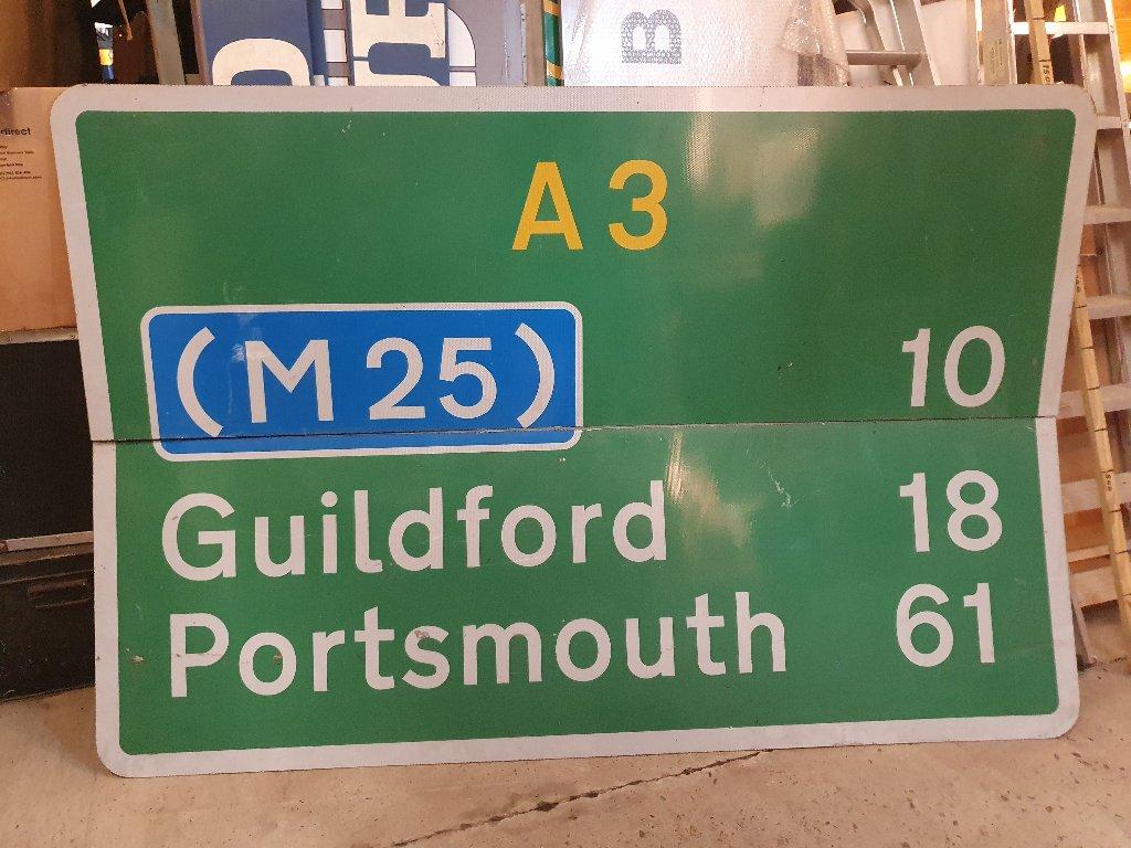 Sign – A3 /M25 2 Piece Sign