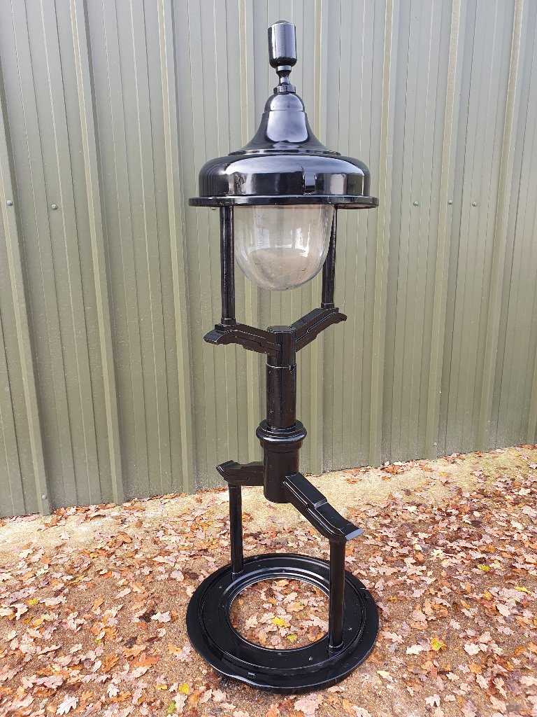 Up Cycled Steam Punk Lights – On Stands
