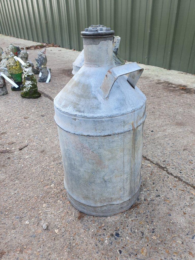 Galvanisde Petrol Can – 1930s – E.P.Co Ltd (Esso Petroleum Company Ltd)