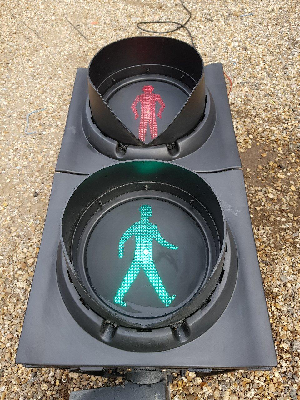 Men Walking Lights