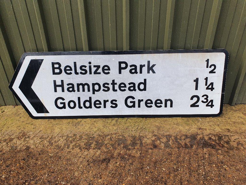 Signs – Golders Green, Belsize Park, Hampstead