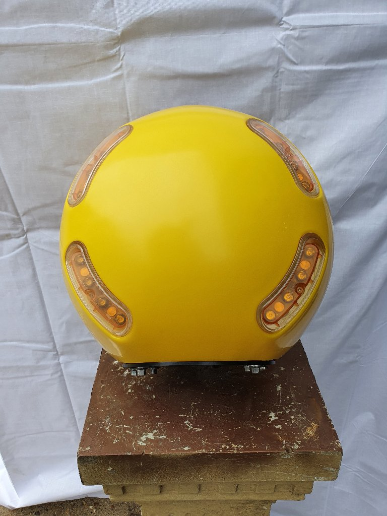 Simmonsigns Midustar LED Post Mounting Belisha Beacon