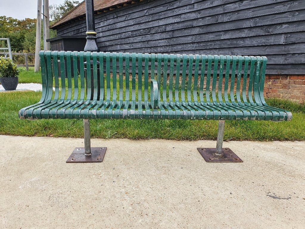 Substantial Ollerton Aluminium Bench