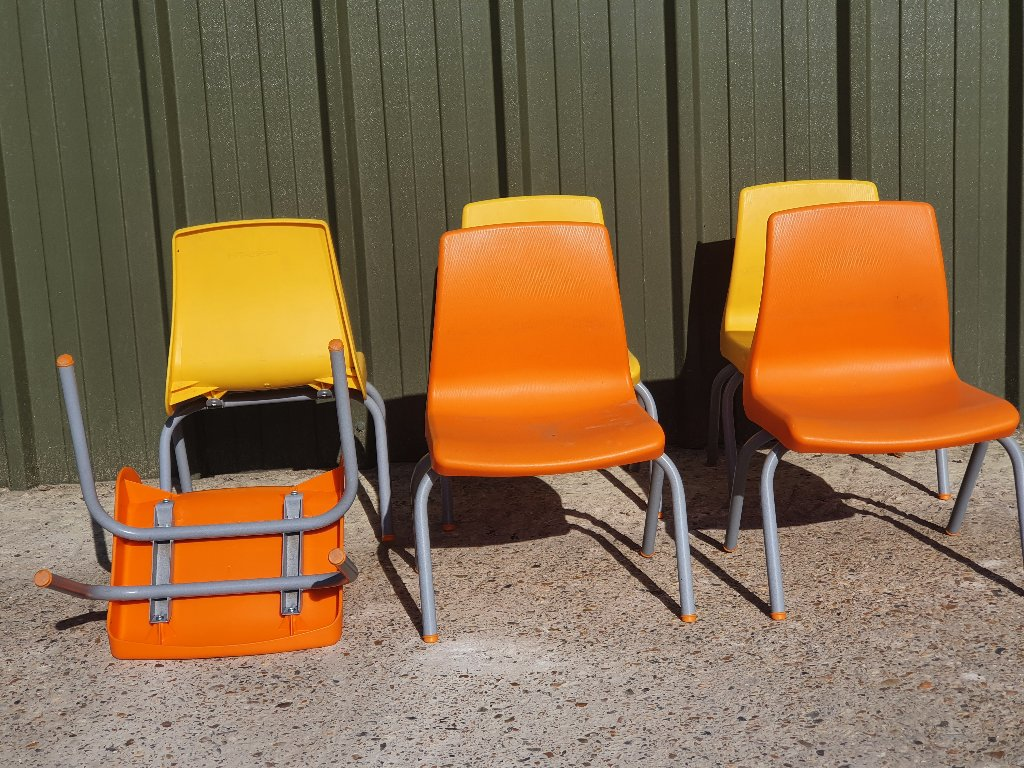 Childrens Plastic Stack Chairs