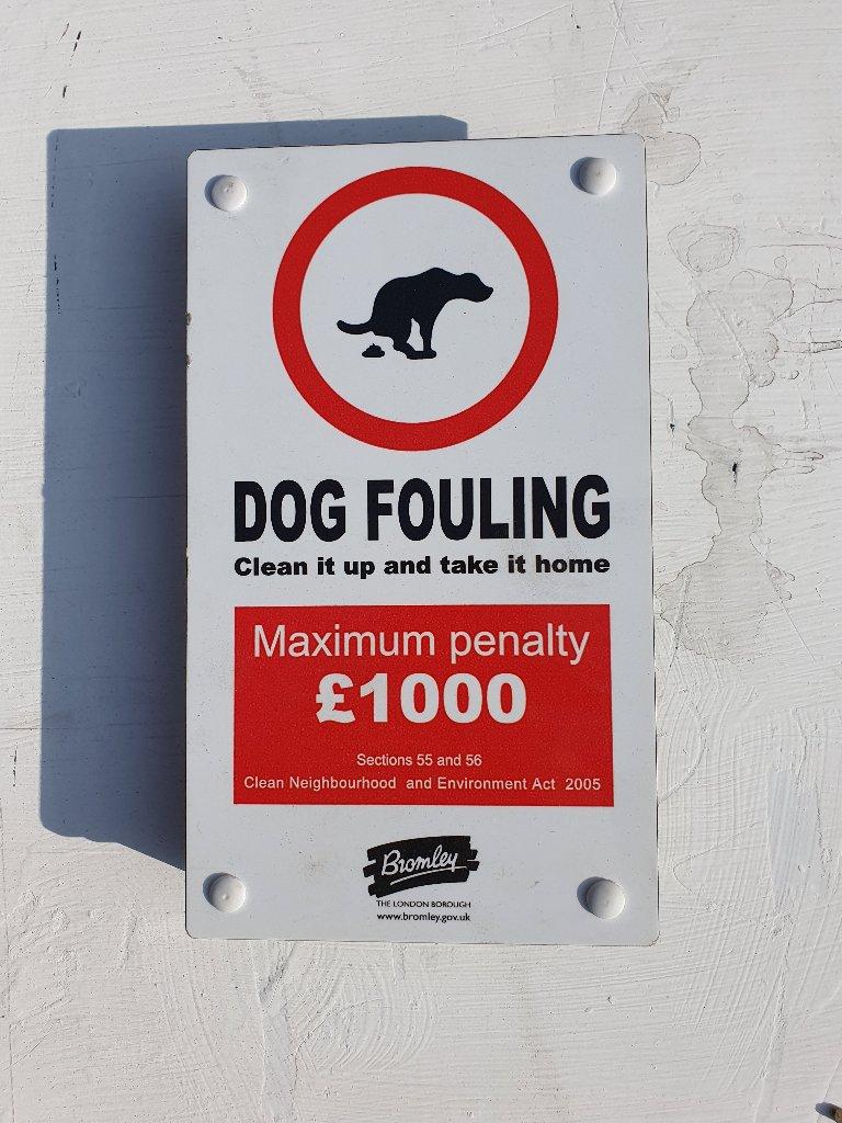 Sign – Dog Fouling Fine