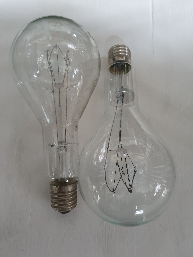 Lamp – Vintage Philips E40 1000 W Lamps