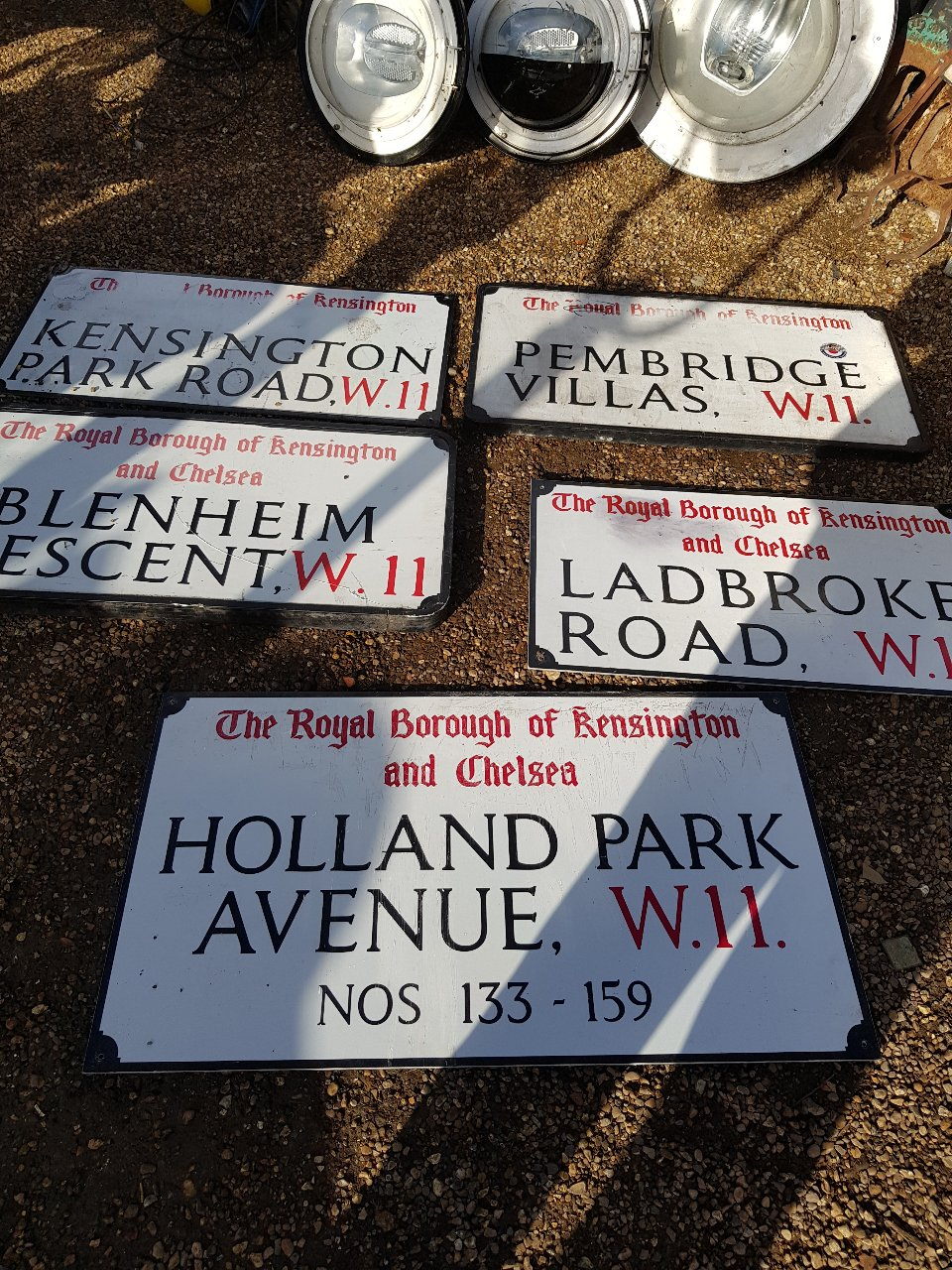 Kensington & Chelsea Street Name Signs – Various Ref SKU = A71