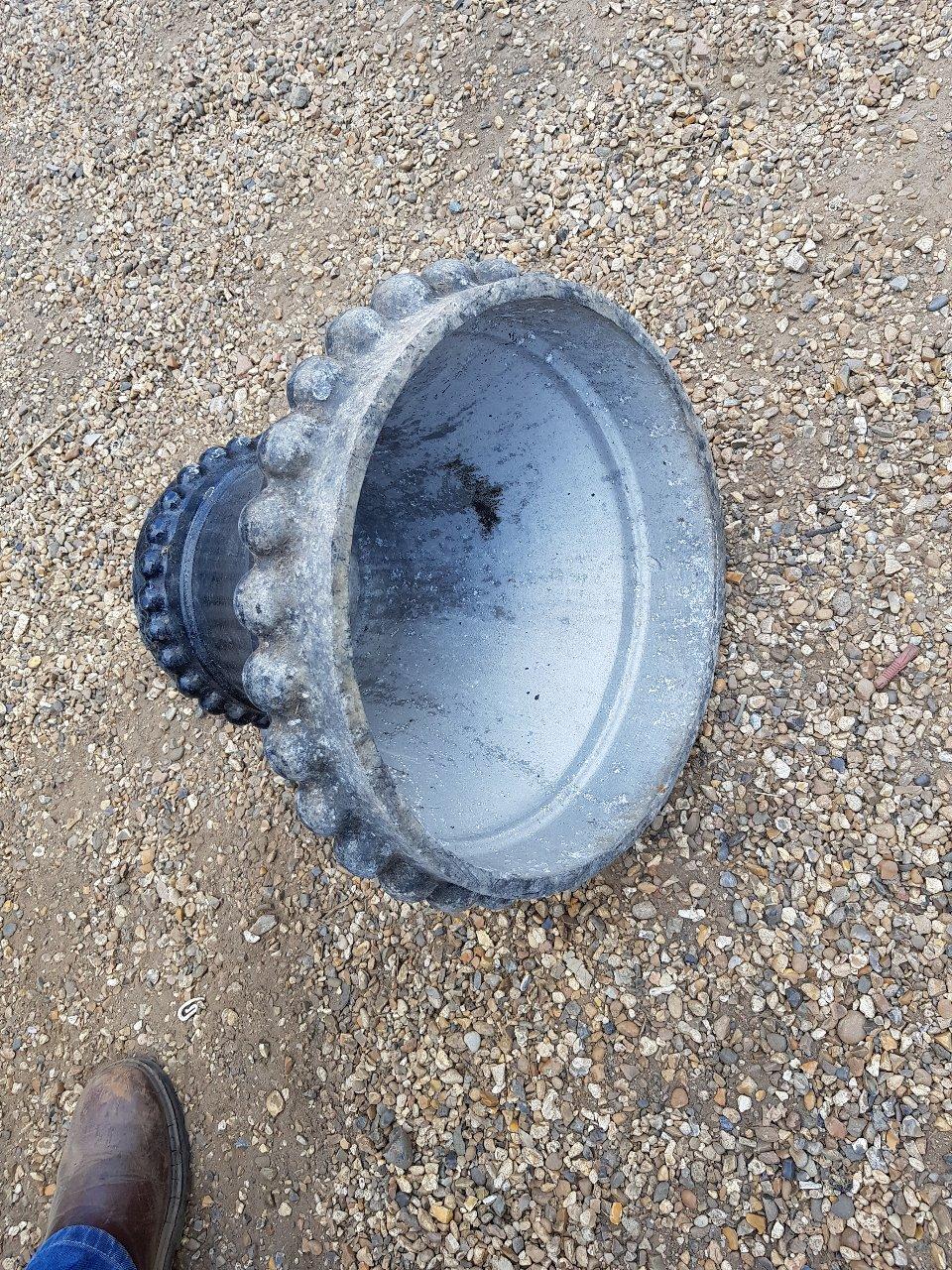 Large Cone Embellishment Aluminium