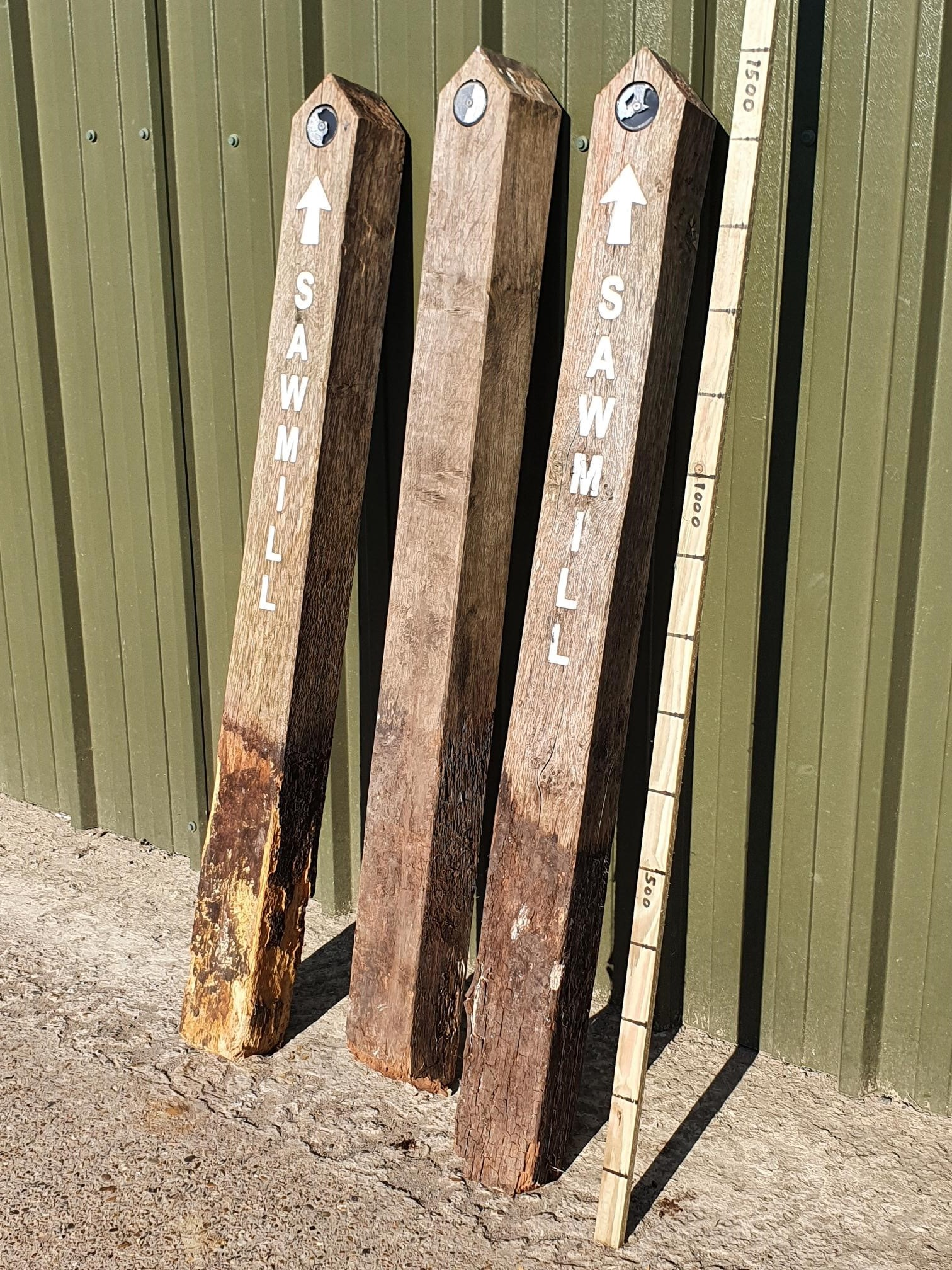 Oak Posts Used