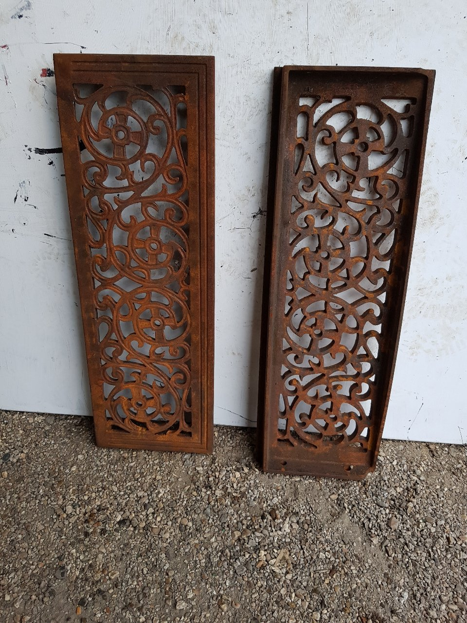 Ornate Cast Iron Steps