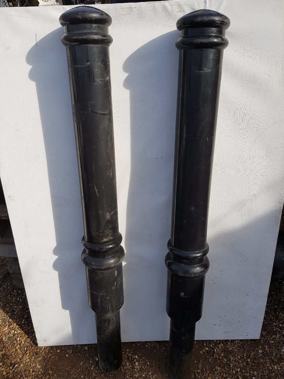 Plastic Cannon Bollards Steel Core