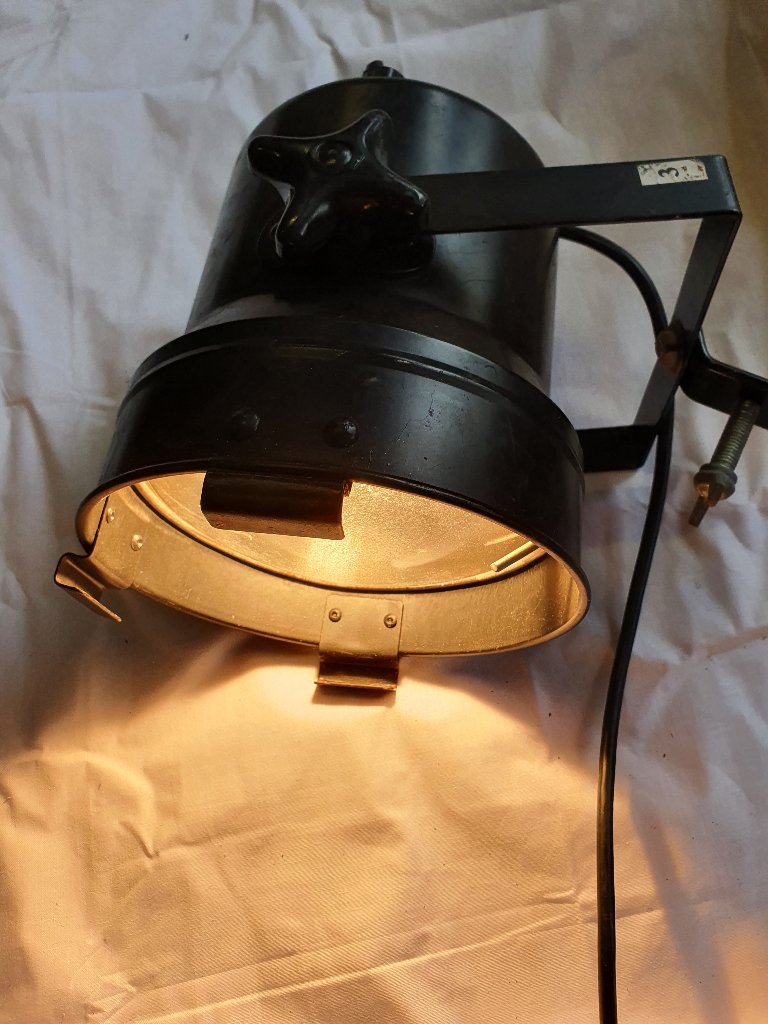 Vintage Disco Equipment – Small Black Par Can Lights