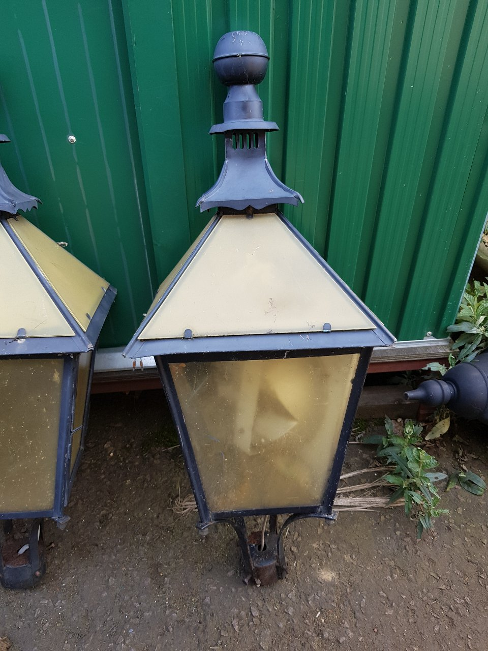 Copper Suggs Chinese Lanterns